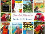 Scarlet Macaw Books for Kids | Rainforest Unit Study