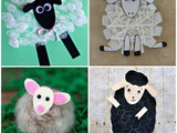 Sheep Crafts for Preschool Children