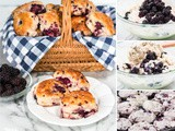 Simple and Easy Homemade Blackberry Biscuits