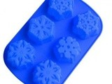Snowflakes Silicone Cake Mold only $5.48 + free Shipping