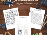 Summer Fun Activity Pack for Upper Elementary