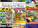 The Best Magazines for Boys