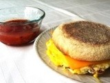 The Easy 3 Minute Breakfast Sandwich
