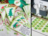 The Grinch Printable Party Set