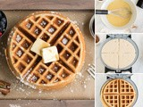 The Perfect Holiday Eggnog Waffles Recipe