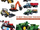 Tractor Toys for Toddler Boys