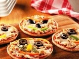 Tuna Individual Pizza Recipe (StarKist Kids)