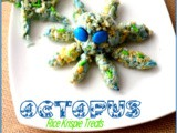 Underwater Octopus Rice Krispie Treats