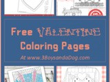 Valentine's Day Pictures to Color
