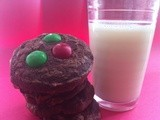 12 Days of Christmas Cookies: Day 6 Double Chocolate Peppermint Cookies