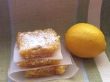 12 Days of Christmas Cookies: Day 7 Lemon Bars