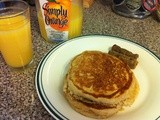 The Breakfast Chronicles Part 2: Whole Wheat Buttermilk Pancakes