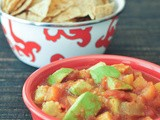 Avocado and baby corn salsa
