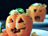 Bell Pepper Jack o Lanterns