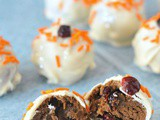 Cranberry Orange Shortbread Truffles