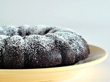 Decadent dark chocolate mocha bundt cake for Food 'n Flix: My Big Fat Greek Wedding