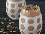 Double Chocolate Smoothie with Salted Pepitas