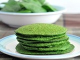 Lemon basil spinach cakes