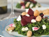 Maple roasted beet salad