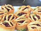 Mini Vegan Sausage Pies