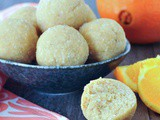 Orange Creamsicle Protein Balls