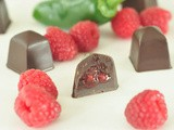 Raspberry jalapeno chocolates