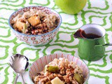 Salted Caramel Apple Oatmeal