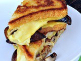 Shroom Hunter Smoky Grilled Cheese