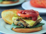 Tangy Spinach Artichoke Burgers