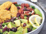 Vegan Chicken Cranberry Salad