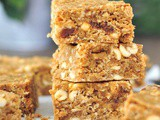 Vegan Peanut Butter Bars