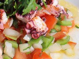 Traditional Spanish Octopus Salad