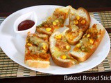 Baked Pizza Bread Sticks