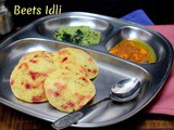 Beets Idli | How to make Idli without Rice