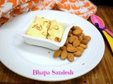Bhapa Sandesh | How to make Steamed Sandesh