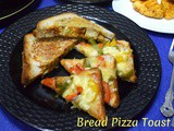 Bread Pizza Toast ~ Easy Breakfast Ideas for Kids