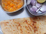 Carrot Pesarapappu Kura ~ Easy Side Dish for Roti