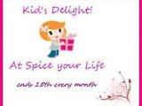 Celebrating Blog Anniversary with Kid's Delight Party