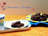 Chocolate Scones | How to make Mini Chocolate Scone