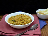 Doddapatre Soppina Chitranna | How to make Spiced Indian Thyme Rice
