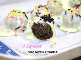 Easy 3 Ingredient Oreo Nutella Truffles