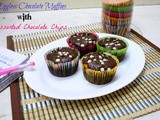 Eggless Chocolate Muffin with Assorted Chocolate Chips