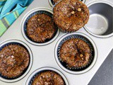Eggless Double Chocolate Muffin ~ Baking with Buttermilk