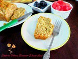 Eggless Honey Banana Wheat Loaf | How to make Eggless Honey Banana Wheat Loaf