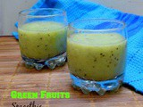 Green Fruits Smoothie