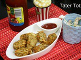 Homemade Tater Tots | Deep Fried Potato Cluster Snack