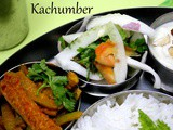 Kachumber | Fresh Tomato, Cucumber, Onion Salad