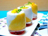 Mango and Coconut Panna Cotta | How to Make Panna Cotta with Agar Agar