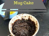 Microwave Double Chocolate Mug Cake