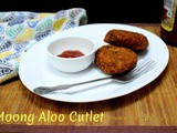 Moong Potato Cutlet